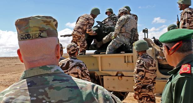 """بتعليمات ملكية سامية.. تنظيم التدريبات المغربية الأمريكية المشتركة """"الأسد الإفريقي 2021"""" من 7 إلى 18 يونيو"""