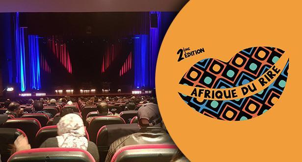 """Le festival """"Afrique du rire"""" offre un spectacle captivant au public rebati"""