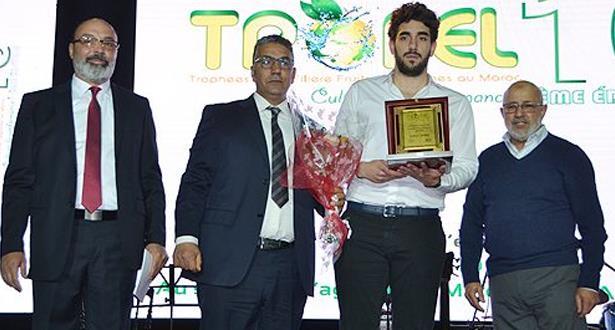 توزيع جوائز الدورة العاشرة للجائزة الوطنية للخضر والفواكه (تروفيل 2019)