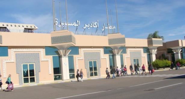 ارتفاع عدد مستعملي مطار المسيرة  أكادير بأزيد في الشهرين الأولين من 2019