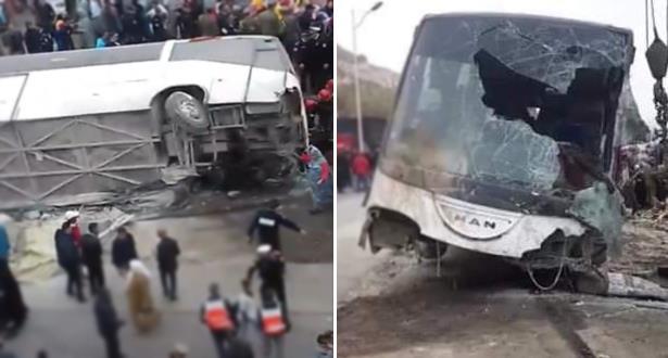 Agadir: Deux morts et 26 blessés suite au renversement d'un véhicule transportant les ouvriers d'une conserverie de poisson
