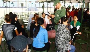 أكادير .. التحاق الفوج الأول من المدعوين للخدمة العسكرية