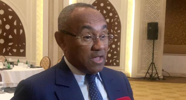 """فيفا"""" يوقف رئيس الاتحاد الافريقي أحمد أحمد خمس سنوات"""""""