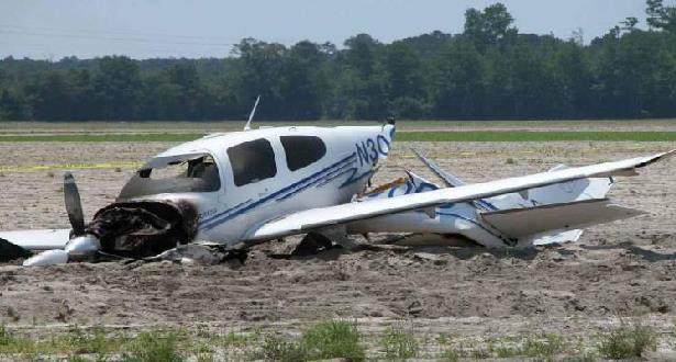 الولايات المتحدة .. مصرع أربعة أشخاص إثر تحطم طائرة صغيرة بولاية جورجيا