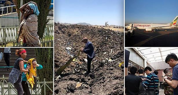 عائلات ضحايا الطائرة الإثيوبية على وقع الصدمة
