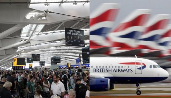إلغاء رحلات الخطوط الجوية البريطانية من مطاري لندن بسبب عطل إلكتروني