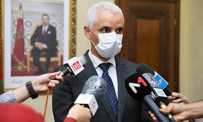 Le ministre de la Santé présente les mesures qui seront prises pour faire face aux dernières évolutions de la situation épidémiologique à Marrakech