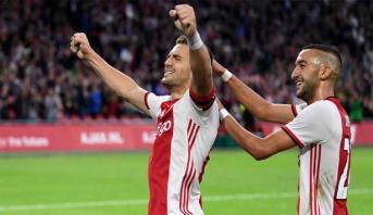 زملاء زياش يتأهلون إلى المرحلة الإقصائية من دوري أبطال أوروبا