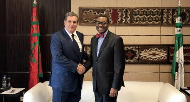أخنوش يتباحث بأبيدجان مع رئيس البنك الإفريقي للتنمية