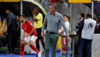Egypte: l'entraîneur français Carteron limogé par Al-Ahly