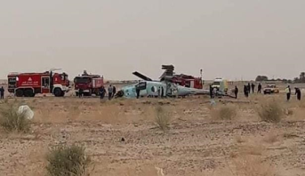 تحطم مروحية عسكرية جنوب شرق العاصمة الجزائر
