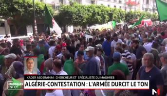 Algérie: l'armée durcit le ton face à la rue