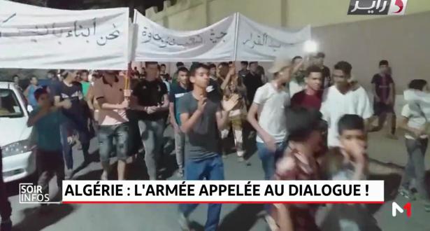 Algérie: l'armée appelée au dialogue