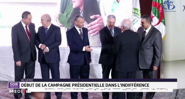 Algérie: la campagne présidentielle débute dans l'indifférence