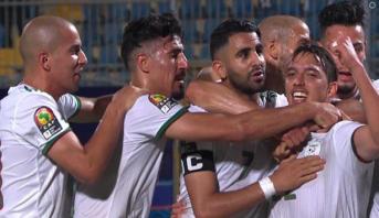 المنتخب الجزائري ينهي الشوط الأول متقدما على كينيا
