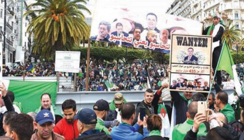 جمعة عاشرة للاحتجاجات في الجزائر ضد النظام