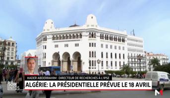Algérie: la présidentielle prévue le 18 avril