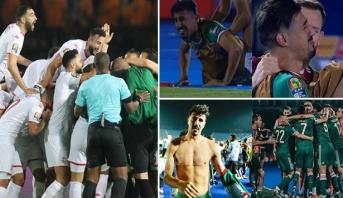 أمم إفريقيا 2019: الجزائر بترجيح ودموع وتونس بثلاثية في نصف النهائي