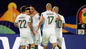 L'Algérie éjecte la Guinée de la CAN et rejoint les quarts