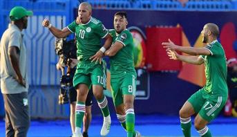 بعد مباراة بطولية.. الجزائر تحسم التأهل للمربع الذهبي