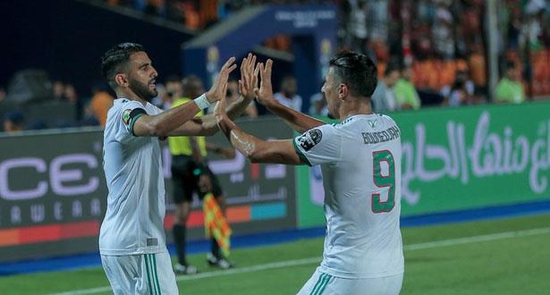 CAN 2019: l'Algérie bat le Nigeria et rejoint le Sénégal en finale