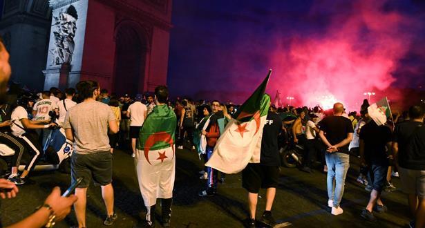 مشجع جزائري يدهس عائلة بسيارة في فرنسا