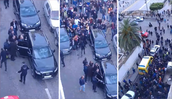 مواطنون غاضبون يطردون والي الجزائر العاصمة