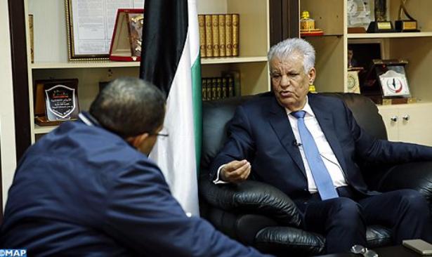 السفير الفلسطيني : موقف الملك محمد السادس من تطورات ملف القدس يعكس مدى انشغاله الشخصي بالقضية الفلسطينية