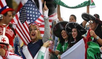 المشجعون الأمريكيون والمكسيكيون في مقدمة المنفقين في كأس العالم 2018