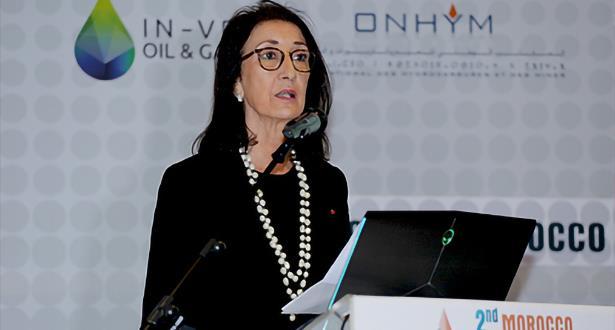 أمينة بنخضرة : 70 رخصة للتنقيب و10 امتيازات استغلال لشركات النفط والغاز العالمية