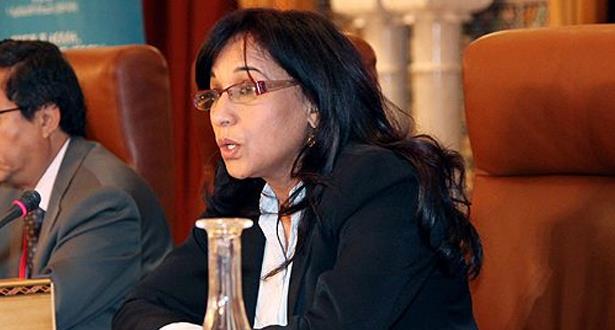 بوعياش تؤكد عزمها على العمل على تفعيل المقتضيات الدستورية في مجال حقوق الإنسان