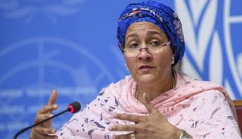 نائبة أمين عام الأمم المتحدة تتوجه الجمعة الى مراكش لحضور المؤتمر الوزاري للجنة الأمم المتحدة الاقتصادية لإفريقيا