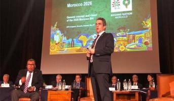 """العمراني يقدم عرضا حول ملف """"المغرب 2026"""" ببروكسيل"""