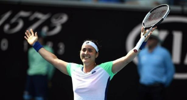 أنس جابر تحقق إنجازا عربيا في بطولة أستراليا المفتوحة