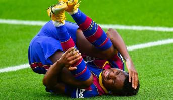 Championnat d'Espagne: Ansu Fati fracturé du ménisque du genou gauche (Club)