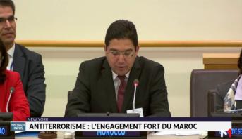 Lutte contre le terrorisme: le Maroc très fortement engagé