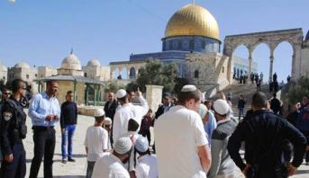 عشرات المستوطنين يستأنفون اقتحاماتهم للمسجد الأقصى