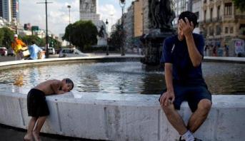 الأرجنتين .. موجة حر شديدة تجتاح البلاد مع تسجيل نحو 41 درجة مئوية