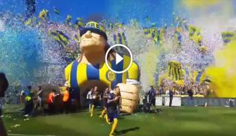 Vidéo: les Ultras du club argentin de Rosario se distinguent avec une ambiance de folie