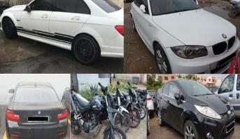 الدار البيضاء .. توقيف 17 شخصا كانوا يسوقون سياراتهم ودراجاتهم النارية بطريقة استعراضية وخطيرة