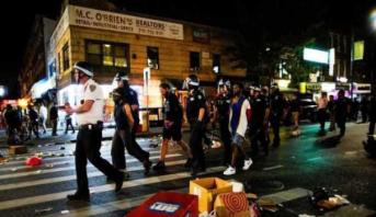 Plus de 200 arrestations suite à une nuit de violentes manifestations à New York
