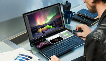 حواسيب ASUS ZenBook Duo و ASUS VivoBook S15 متاحة حاليا في المغرب