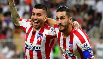 لاعبو أتلتيكو مدريد يوافقون على تخفيض رواتبهم بنسبة 70%
