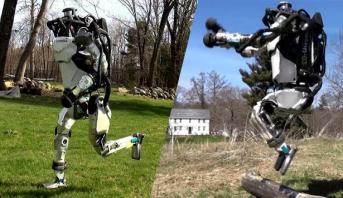 """""""روبوت"""" مبهر يقلد البشر .. آخر ابتكارات بوسطن ديناميكس"""