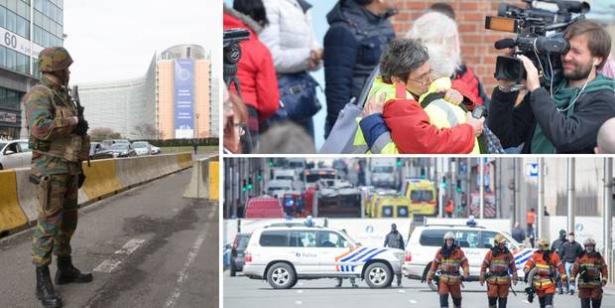 """""""داعش"""" تعلن مسؤوليتها عن تفجيرات بروكسل"""