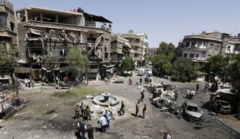 Syrie: plusieurs morts et blessés dans une forte exposition à Damas