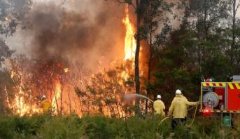 أستراليا.. رجال الإطفاء يبذلون جهودا كبيرة لاحتواء 150 حريقا