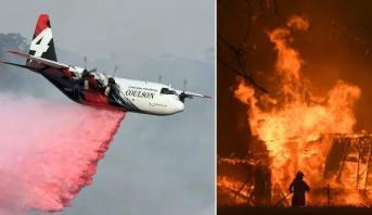 أستراليا..مصرع ثلاثة أشخاص في تحطم طائرة تكافح حرائق الغابات