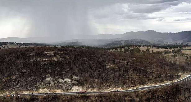 أستراليا تتنفس الصعداء .. عواصف تخمد نيران الشرق