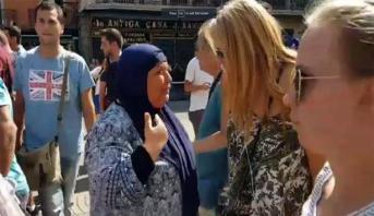 شهادة مؤثرة لمسلمة أسترالية نجت في آخر لحظة من الموت في اعتداء برشلونة